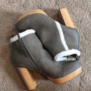 Ankle booties. Brand new. Size 10